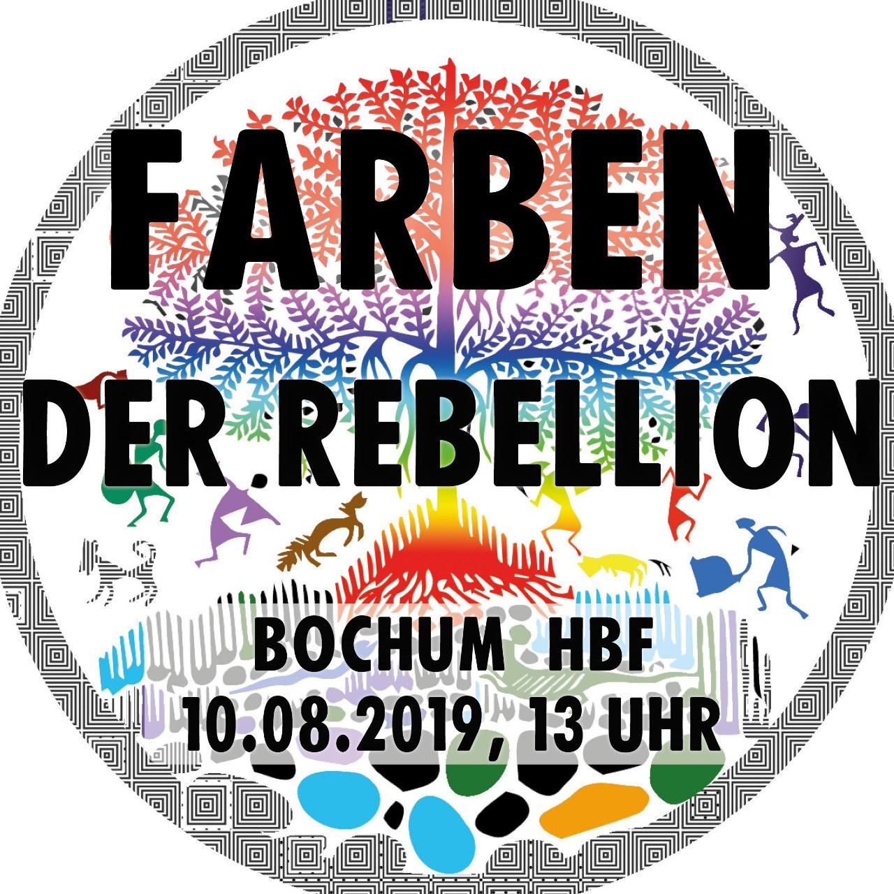Farben der Rebellion; Bochum Hbf, 10. August 2019, 13:00 Uhr